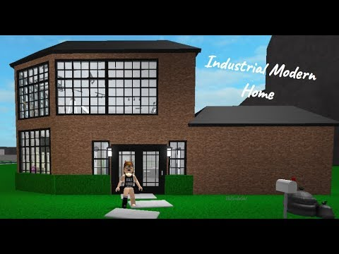 ROBLOX | Welcome to Bloxburg: Industrial Modern Home SpeedBuild - DaPandaGirl