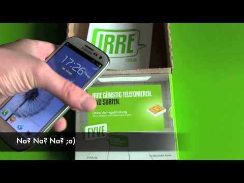 Fyve Micro Sim fürs Vodafone Netz