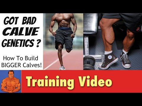 Bad Calve Genetics? Why some bodybuilders have small calves.