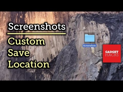 Change the Default Save Location of Screenshots in Mac OS X [How-To]