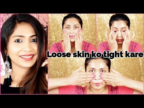 Do this Facial Massage for 5 Mins and look 10 years younger|For Skin Tightening & Brightening |Rabia