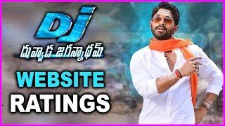 Duvvada Jagannadham Movie Ratings | DJ Movie Website Ratings | Allu Arjun | Pooja Hegde