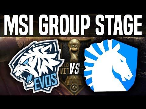 EVS vs TL - MSI 2018 Group Stage Day 4 - EVOS Esports vs Team Liquid | League Of Legends MSI 2018