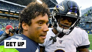 Russell Wilson and Lamar Jackson are giving us Heisman-like moments in the NFL - Ryan Clark