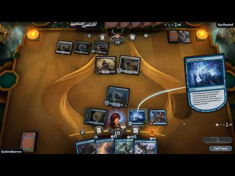 Mill Deck win on turn 6 with a single 1/1 creature (got lucky) - Magic the Gathering - Arena Beta