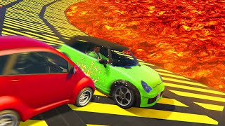 Worlds Most Brutal Mega Car Derby! (gta 5 Funny Moments)