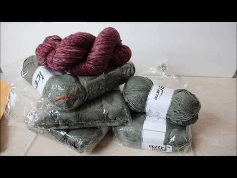 My First Ever Unboxing YARN