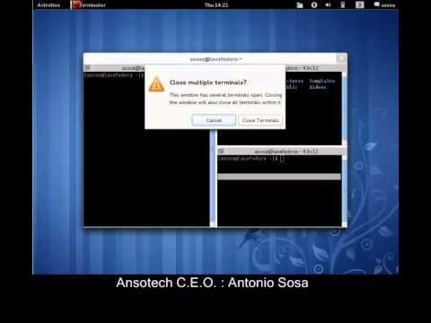 Ansotech Linux Project: Custom Fedora 15 Live CD