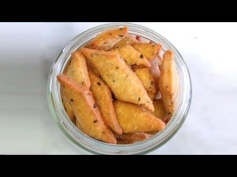 How To Make Ajwain & Kalonji Nimki at Home   Ajwain & Kalonji Nimki Recipe   Indian Snack Recipe