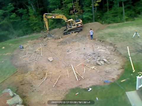 Pool Day 1 - Excavation