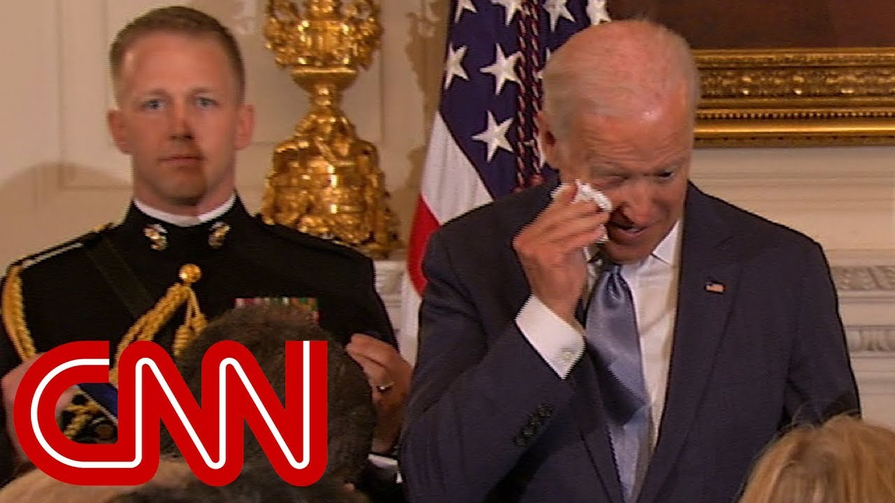 Obama's surprise brings Joe Biden to tears