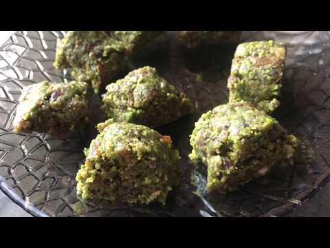 Healthy No Bake Baklava Recipe - Episode 350 - Baking with Eda