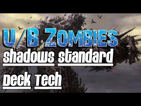 Mtg Deck tech: U/B Zombies in Shadows Over Innistrad Standard!