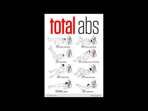Abs Exercises 1 Minute Video Presentation