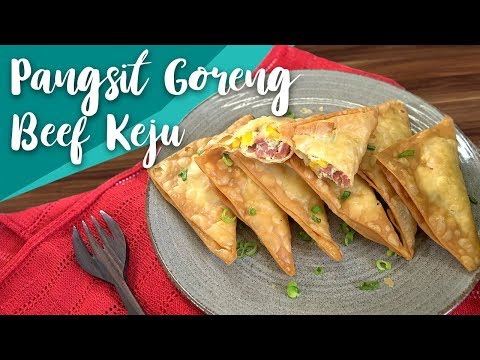 Resep Pangsit Goreng Beef Keju by Antonius Halim | GO COOK #6