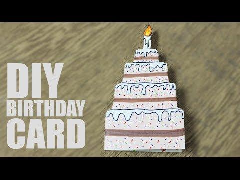 DIY Birthday Card for Sister - Handmade cards for birthday ideas