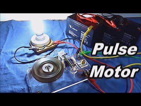 DC Motor to AC Magnet Generator!