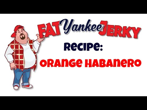 Beef Jerky Recipe - Orange Habanero