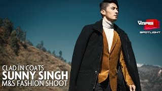 Clad in Coats | Sunny Singh Photoshoot | M&S SPOTLIGHT | M&S VMAG