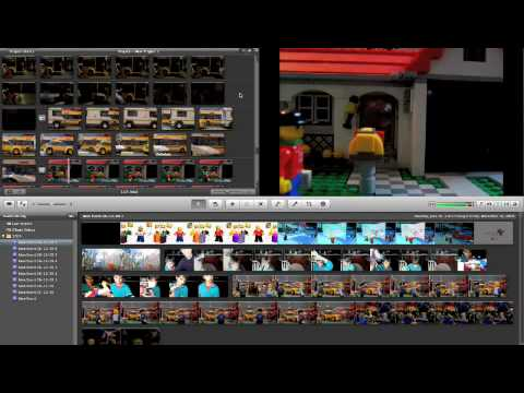How to make lego stop-motion movies on iMovie 09' without the pics going slow