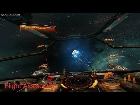 Elite Dangerous: Basic maneuvering and toggling flight assist