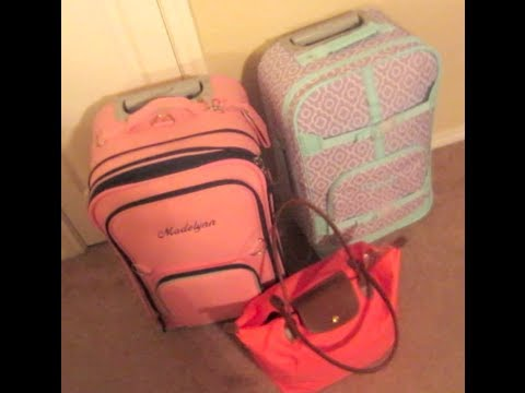 Vlog 3/21/14: Packing for a Weekend Trip to El Paso, TX!