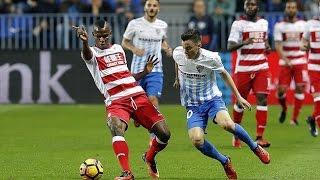 Málaga vs Granada 1-1 Goals & Highlights 09/12/2016