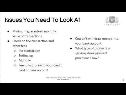Merchant Account Setup UAE | Easily Transfer Your Online Payments To A Dubai Bank