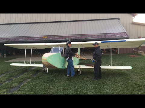 Peter Sripol's Homemade Ultralight Flight Live
