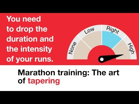 Marathon training: The art of tapering   events   Shelter