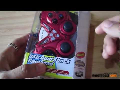 CD-R King USB Dual Shock Vibrating Gamepad