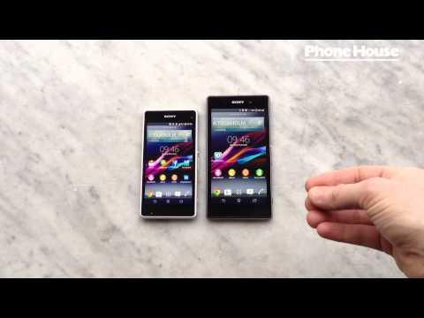 Vi jämför Sony Xperia Z1 Compact och Sony Xperia Z1