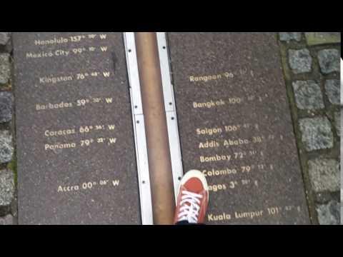 Greenwich Prime Meridian Line
