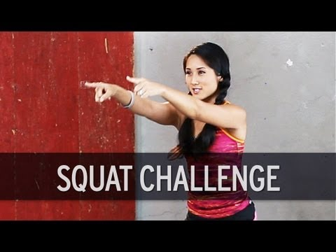Squat Challenge: 225 Squats to Burn 100 Calories