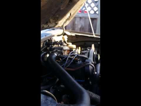 1986 ford ranger 2.3l rough idle