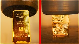 Top 10 MOST EXPENSIVE THINGS YOUTUBERS DESTROYED! ($40,000 Gold Bar, Gold Apple Watch)