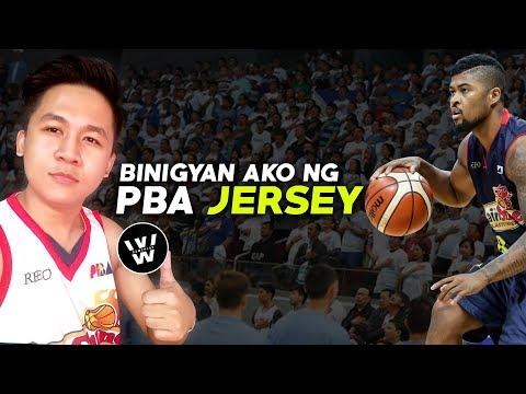 Binigyan Ako ng Jersey ng PBA Player | Thank you, Maverick Ahanmisi of ROS | Vlog #3