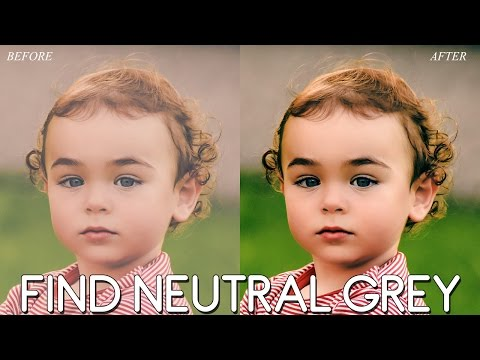 How to Find Neutral Grey in a Photo with Photoshop