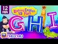 GHI Songs | Learning English Is Fun™ | ChuChu TV Phonics & Words Learning For Preschool Children