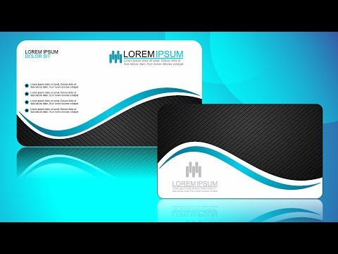 Coreldraw x7 Tutorial Business Card Design #14 with AS Graphics
