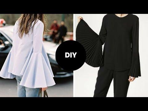 How To Make Bell Sleeve Blouse I Beginner Sewing I Ovoke