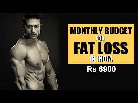 Monthly BUDGET for FAT LOSS in India | Food & Supplement Cost with PDF  | Guru Mann