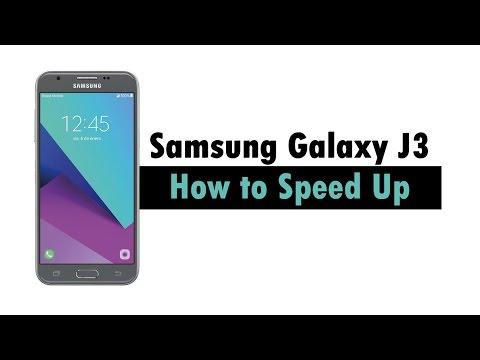 Samsung Galaxy J3 - How to Speed Up | H2TechVideos
