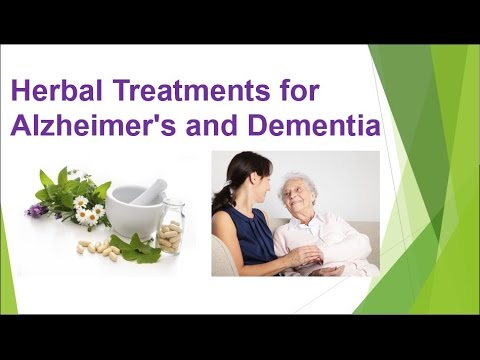Natural Remedies for Alzheimer's Disease and Dementia