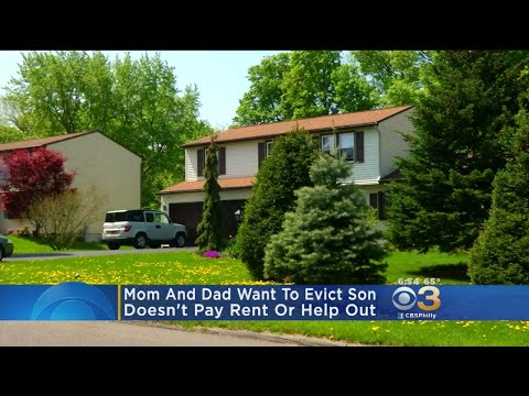 Parents Take 30-Year-Old Son To Court To Evict Him
