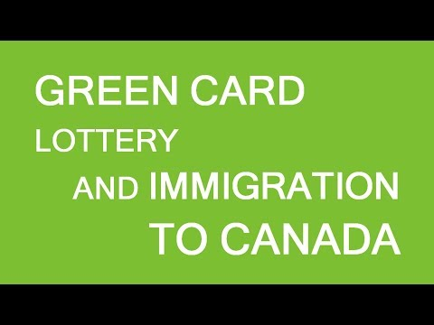How could Green Card lottery application affect Immigration to Canada. LP Group