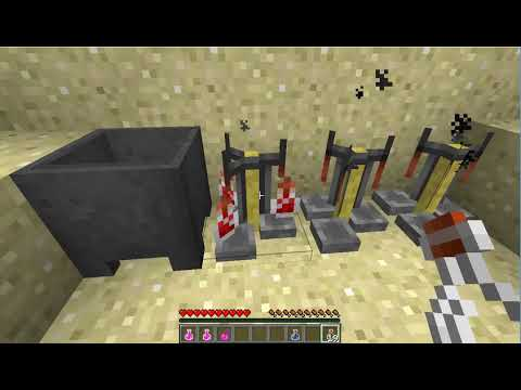 Brewing Health Potion (Minecraft)