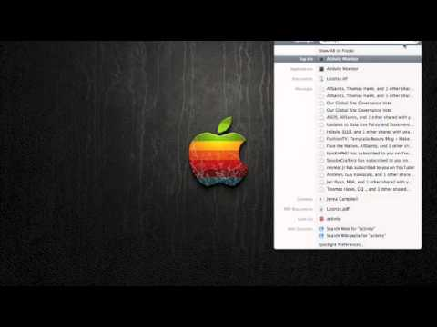 Macbook Tutorial 2:How to check how much GB you have left.