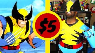 X-Men Wolverine   $5 Cosplay Challenge   How To