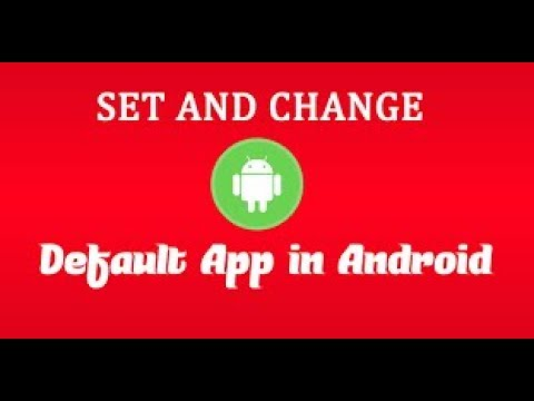 How  To  Set  Or  Change  Default  Apps  Settings  For  Android